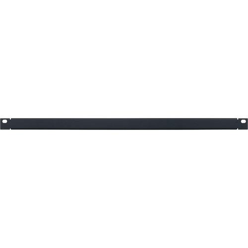 Lowell Manufacturing Rack Panel-Blank-1/2U, 18-Gauge Flanged Steel (Black)