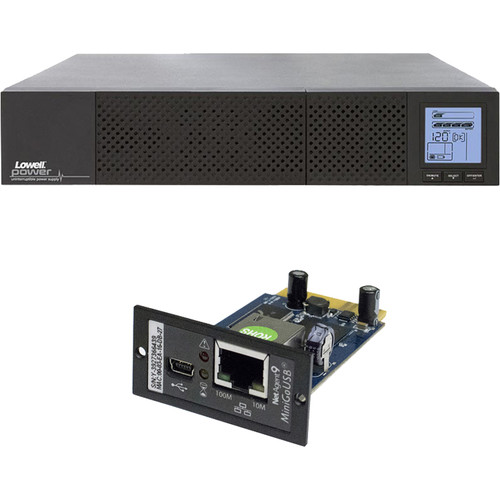 Lowell Manufacturing Bundle: UPS8-2200 + UPS-SNMP