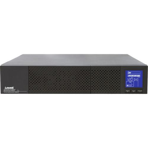 Lowell Manufacturing True Online UPS 2000VA (1800W) with 4-Point Rail Kit, 2U, Tower Pedestals