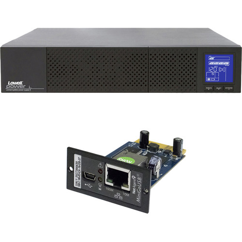 Lowell Manufacturing Bundle: UPS9-3000 + UPS-SNMP