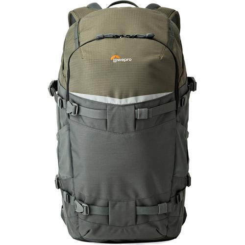 Lowepro Flipside Trek BP 450 AW Backpack (Gray/Dark Green)