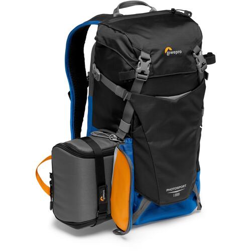 Lowepro PhotoSport BP 15L AW III Photo Backpack (Black/Blue)