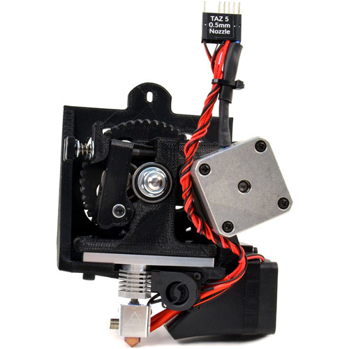 LulzBot TAZ Single Extruder Tool Head v2 (0.5mm Nozzle)