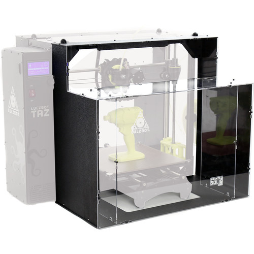 LulzBot TAZ 6 ABS+ 3D Printer Enclosure by Printed Solid