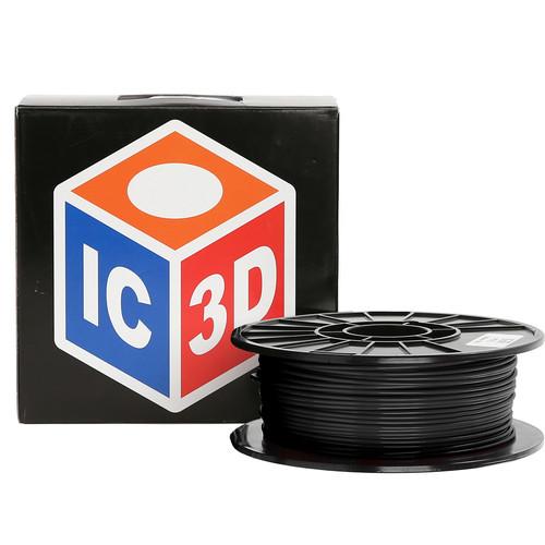 LulzBot 3mm IC3D PETG Filament (1 kg, Black)