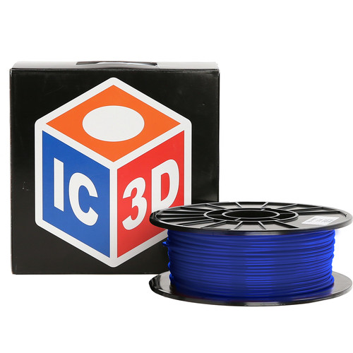 LulzBot 3mm IC3D PETG Filament (1 kg, Blue)