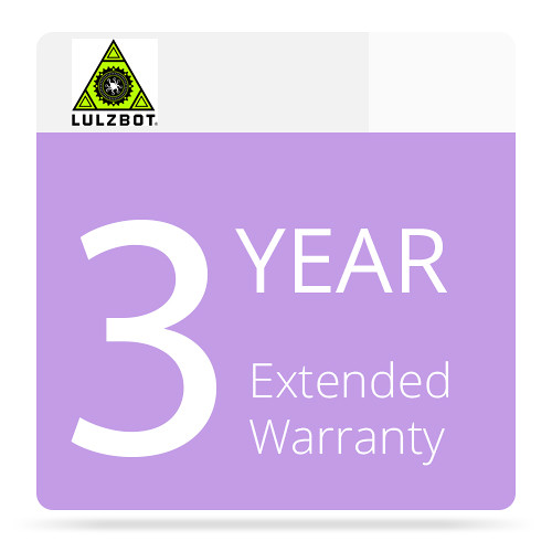 LulzBot 3-Year Extended Warranty for the Mini 3D Printer