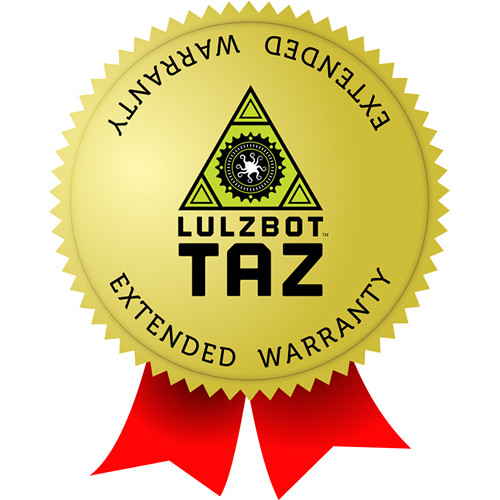 LulzBot TAZ Workhorse 1 Year Extended Warranty