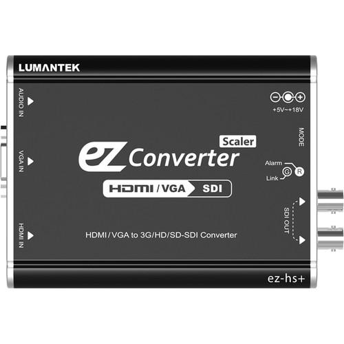 Lumantek HDMI/VGA to SDI EZ-Converter with Scaler