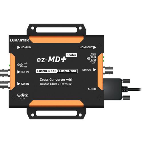 Lumantek HDMI/SDI Cross Converter with Audio Mux/Demux and Scaler