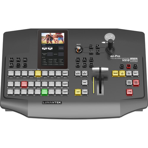 Lumantek 10 x 1 Video Switcher