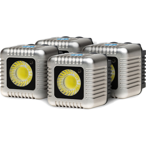 Lume Cube 1500 Lumen Light (Silver, Four-Pack)