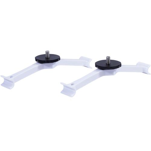 Lume Cube Mounting Brackets for DJI Phantom 4 Quadcopter (White)