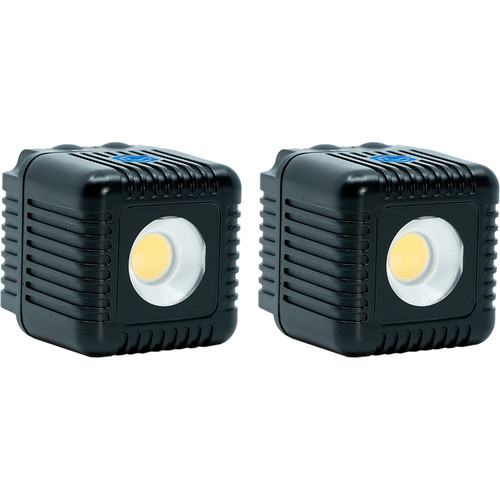 Lume Cube 2.0 Daylight-Balanced LED Light for Photo & Video (Black, 2-Pack)