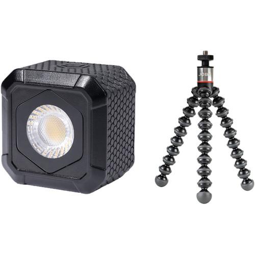 Lume Cube AIR LED Light & GorillaPod 325 Mini-Tripod Kit