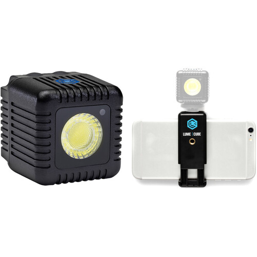 Lume Cube Kit with Single Lume Cube and Smartphone Mount