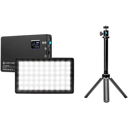 Lume Cube Panel Mini with Adjustable Light Stand Kit
