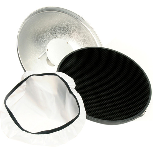 "Lumedyne Beauty Dish with Grid (12"")"