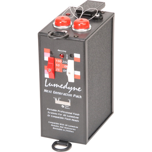 Lumedyne 200 Watt Second Next Generation Power Pack- Xtra Fast