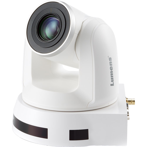 Lumens 20X Optical Zoom, 1080P Hi-Definition Ptz Ip Camera, 60Fps White Color