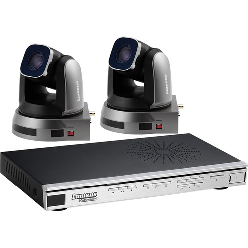 Lumens VS-LC101 CaptureVision Station with Two VC-A20P HD PTZ IP Cameras