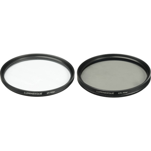 Luminesque 52mm UV and Circular Polarizer Multi Coated Filter Kit