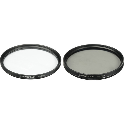 Luminesque 58mm UV and Circular Polarizer Multi Coated Filter Kit