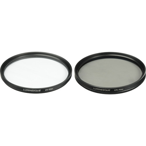 Luminesque 82mm UV and Circular Polarizer Multi Coated Pro Filter Kit