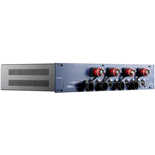 Luminex GigaCore 16RFO Pre-Configured 12-Port Ethernet Switch with Neutrik QUAD, FiberFox 4-Channel MMF, and PoE