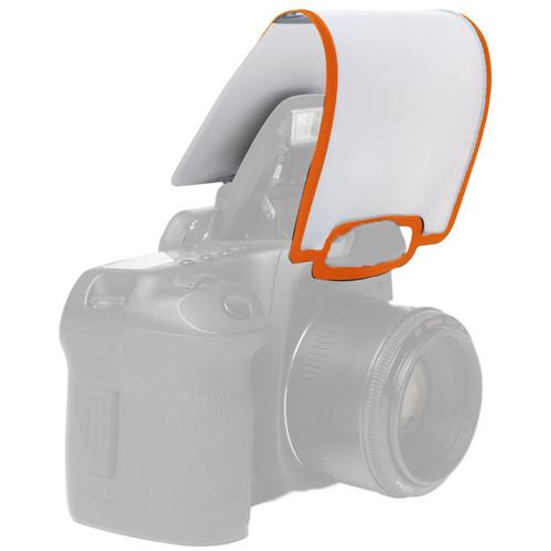 LumiQuest SoftScreen Pop-Up Flash Diffuser (Orange)