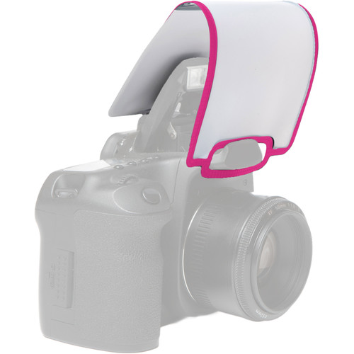 LumiQuest Soft Screen Diffuser (Neon Pink)
