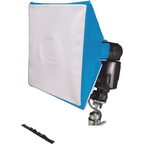 LumiQuest SoftBox III with UltraStrap (Neon Blue)