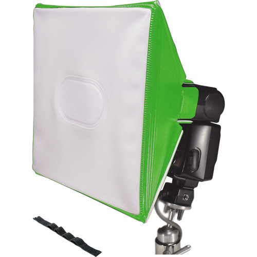LumiQuest SoftBox III with UltraStrap (Neon Green)
