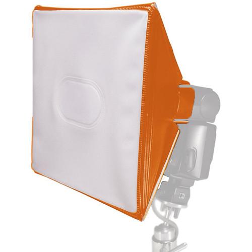 LumiQuest SoftBox III with UltraStrap (Orange)