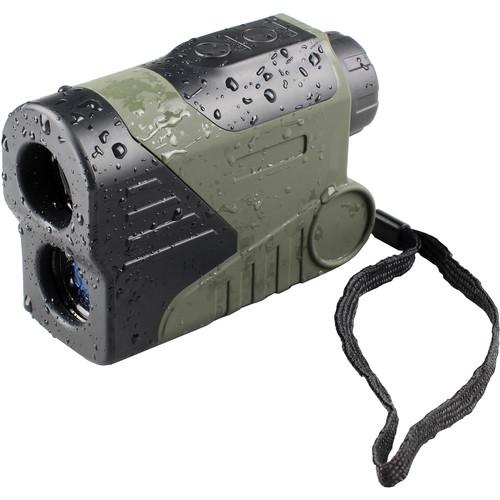 LUNA optics 6x24 Laser Rangefinder Waterproof Monocular