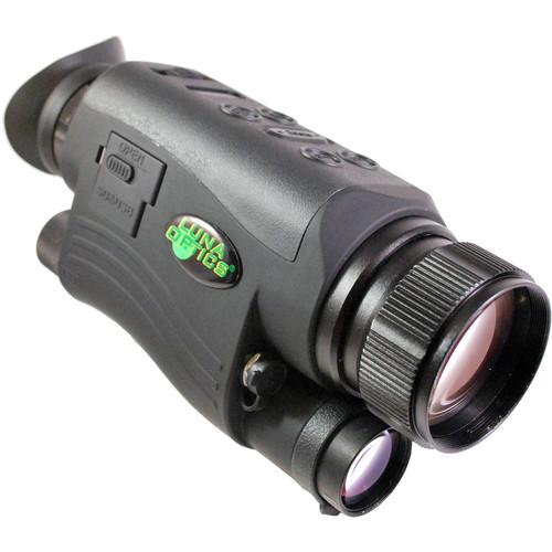 Luna Optics LN-DM50-HRSD 5-20x44 Digital HD Night Vision Monocular (Matte Black)