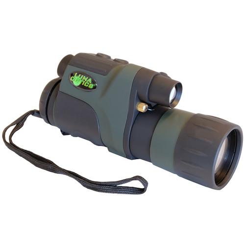 Luna Optics LN-DM5-HRV 5x50 Digital High-Resolution Night Vision Monocular (Green-Black)