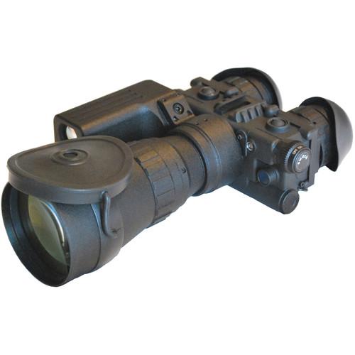 Luna Optics 5x Elite 2nd-Generation Bi-Ocular with Laser Rangefinder (Matte Black)