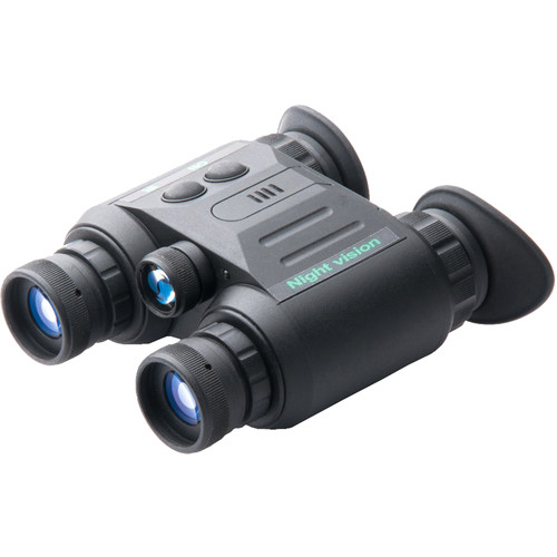 Luna Optics LN-PBG1M 1x Generation 1 NV Binocular and Headgear Kit (Black)