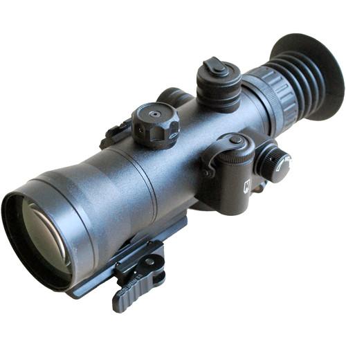 Luna Optics LN-SPRS-3-MINI-WP 3x54 3rd Gen Night Vision Riflescope (Filmless White Phosphor, Red Mil-Dot Reticle, Matte Black)