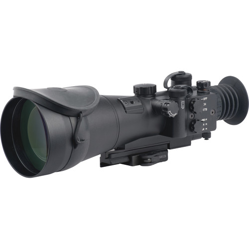 LUNA optics 6x86 3rd Generation Special Purpose Night Vision Riflescope (Filmless White Phosphor Tube, Matte Black)