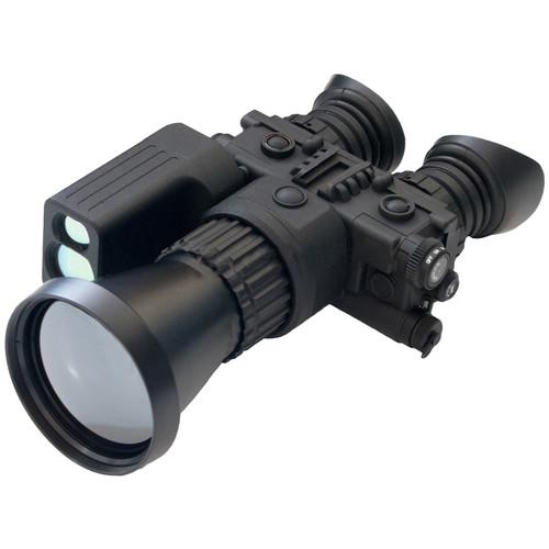 LUNA optics LN-TB50-LRF 5-20x75 Thermal Biocular with Laser Rangefinder (50 Hz, Matte Black)