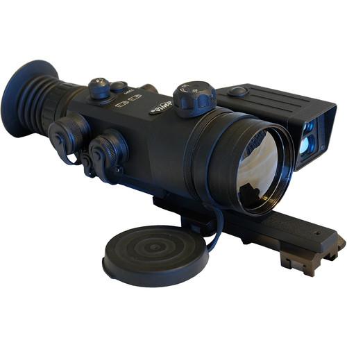 Luna Optics LN-TRS35-LRF 3.5-14x50 Thermal Riflescope with Laser Rangefinder (50 Hz, Digital Multi-Reticle, Matte Black)