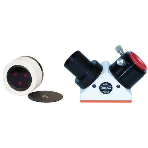 "Lunt Solar Systems 100mm Ha Objective / 12mm Blocking 1.25"" Star Diagonal Eyepiece Solar Filter Kit"