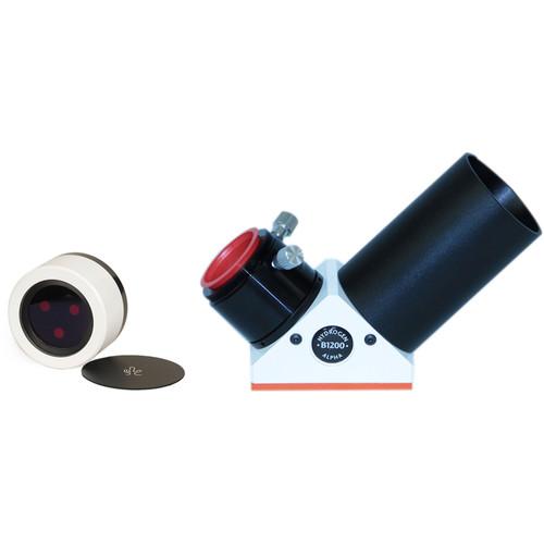 "Lunt Solar Systems 100mm Ha Objective / 12mm Blocking 2"" Star Diagonal Eyepiece Solar Filter Kit"