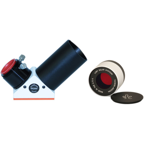 "Lunt Solar Systems 50mm Ha Objective / 34mm Blocking 2"" Straight-View Eyepiece Solar Filter Kit"