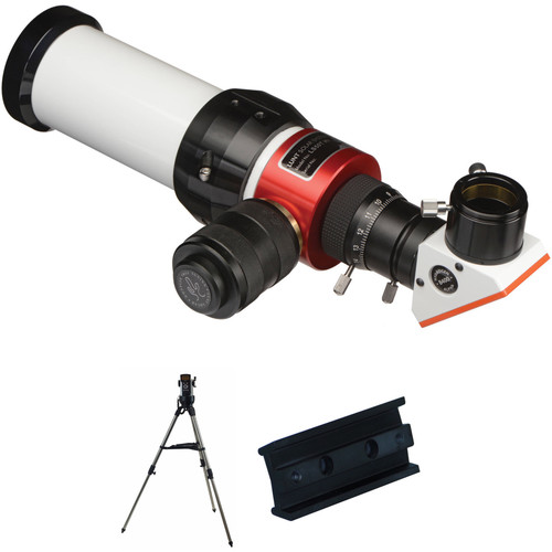 Lunt Solar Systems LS50THa 50mm f/7 Refractor Solar Telescope and B400 Blocking Filter Kit