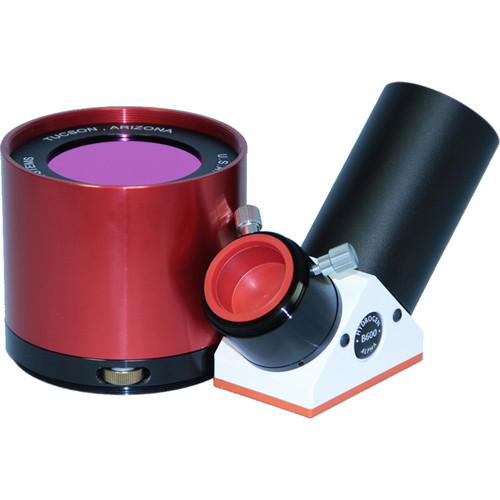 "Lunt Solar Systems 60mm Ha Objective / 6mm Blocking 2"" Star Diagonal Eyepiece Solar Filter Kit"
