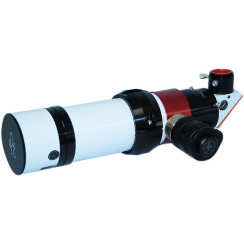"Lunt Solar Systems 60mm f/8.3 Hydrogen-Alpha Double-Stacked Etalon Refractor Solar Telescope (2"" Feather Touch Focuser, 6mm Blocking, Pressure Tuned)"
