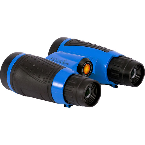 Lunt Solar Systems 6x30 White Light mini-SUNocular Binocular (Blue, Clamshell Packaging)